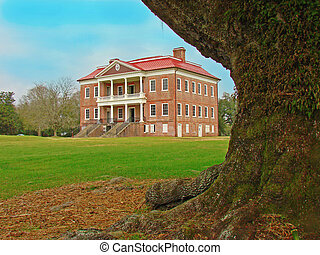 Drayton Hall, South Carolina - Drayton Hall, historic...
