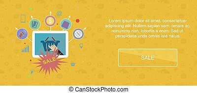 Sale and promotion banner - Sale and promotion Web banner,...