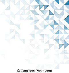 Simple triangular pattern - Geometric simple black and white...