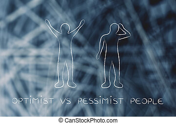 optimist vs pessimist people reactions - optimist vs...