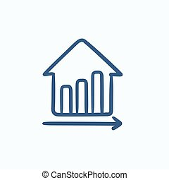 Growth of real estate prices. - Growth of real estate prices...
