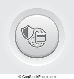 Global Safety Payment Icon.