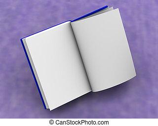 book - Open book