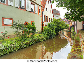 Historic Center of Wissembourg, Elsace, France