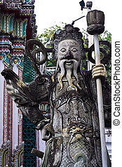 Chinese orge statue