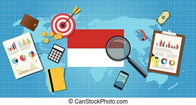 indonesia economy economic condition country with graph...