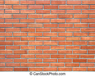 brickwall - Close up of a brickwall, texture background