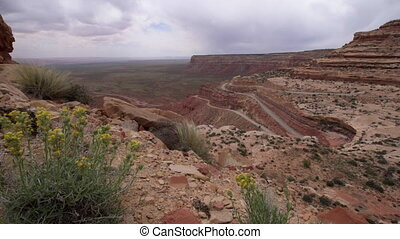 Moki Dugway Overlook - Trail of the Ancients, a National...