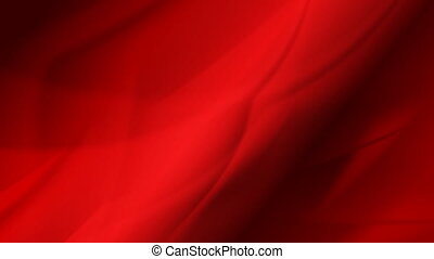 Abstract dark red flowing waves video animation - Flowing...