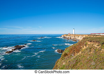 California Pigeon point Lighthouse