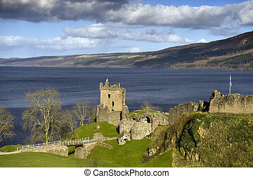 Loch Ness and surrounding area