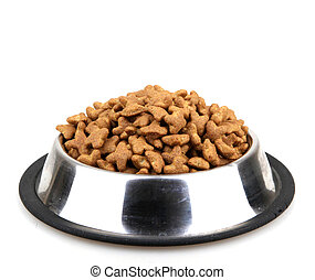 Cats and dogs dry food