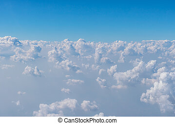 Cloud in blue sky - Cloud in blue sky