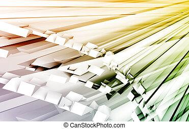 Fiber Optics Technology as a Concept Art