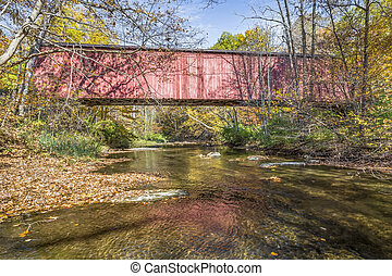 Rob Roy Covered Bridge - Fountain County, Indiana's Rob Roy...