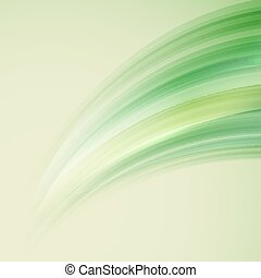 Shine background with abstract waves, vector illustration