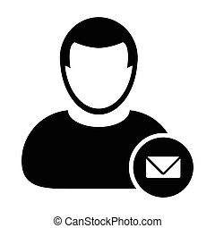 User Icon - Email, Message Icon