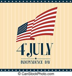The fourth of July, American Independence Day.