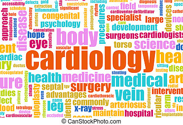 Cardiology Concept for as a Medical Cardiologist