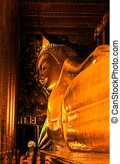 Inside Wat Pho Church