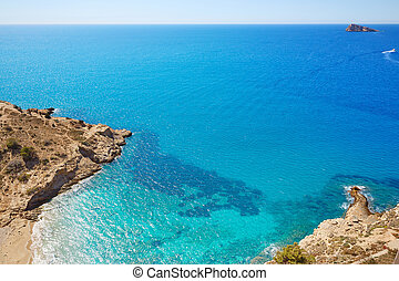 Benidorm beach Alicante Mediterranean Spain - Benidorm Cala...