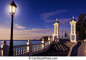 Benidorm Mirador del Castillo lookout Alicante - Benidorm...