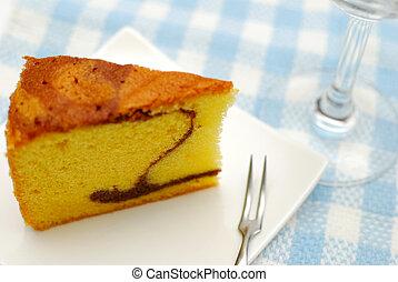 Sumptuous butter sponge cake