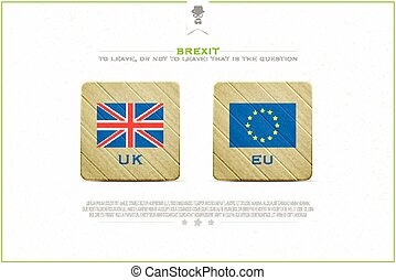 brexit badges - United Kingdom withdrawal from the European...