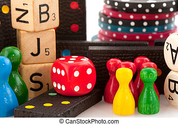 Games - All attributes to play board games isolated over...