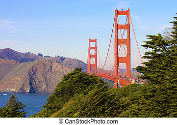 Golden Gate from San Francisco - Golden Gate from the...