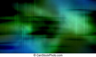 Blue green harsh color soft motion - Animated blue green...