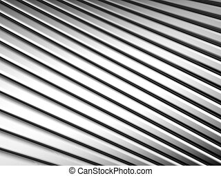 Abstract silver shiny metal stripe background 3d...