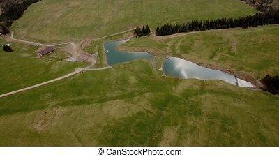 4K Aerial, High Tatra Mountain Range, Slovakia - Graded and...