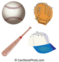 baseball objects