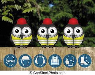 Construction personal protection eq - Bird construction...