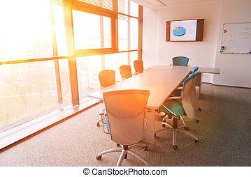 ミーティング, 部屋, オフィス