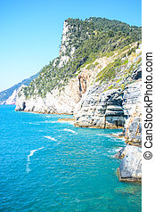 byron cliff in italy - rare view of byron cliff in italy...