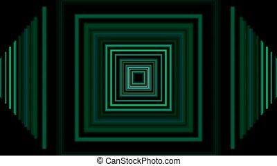 green rectangle,computer interface - 3d green...