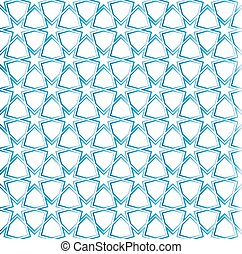 moroccan grid ornament seamless - Moroccan pattern as...