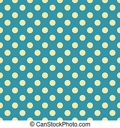 dots on blue background