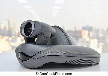 conferencia, Dispositivo,  vídeo