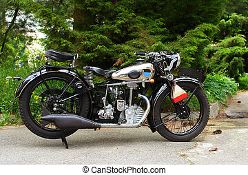 old vintage motorcycle - fascinating old vintage motorcycle...