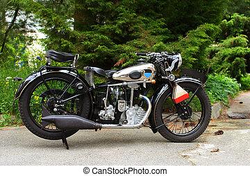 old vintage motorcycle - fascinating old vintage motorcycle...