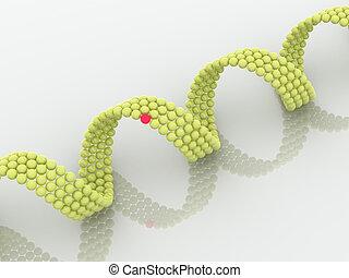 gene in DNA 3d