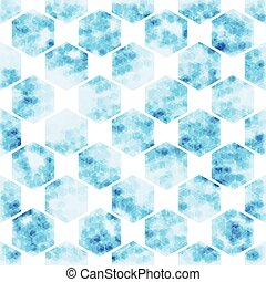 geometric Hexagon  abstract technology background, vector illustration