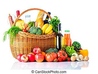 健康, 食物, 白色, 購物, 被隔离