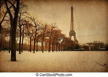 beautiful Parisian streets