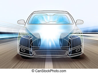 design of car