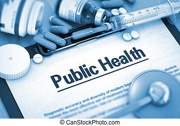 Public Health. Medical Concept. - Public Health, Medical...