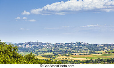 Landscape in Italy Marche - An image of a nice landscape in...